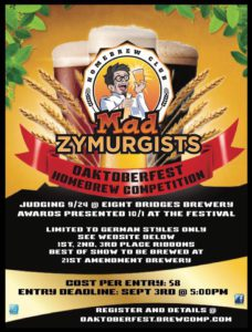 mad zymurg poster for competition